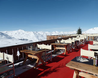 Mountain Restaurant Terrace Photo