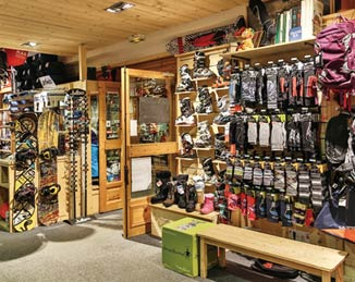 Ski Shop Inside Photo