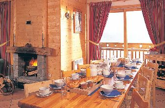 Meribel catered chalets 6 bedrooms - Chalet Mira Belum