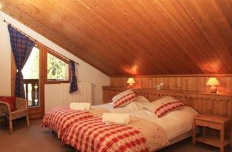 Meribel Chalets 8 bedrooms - chalet bedroom