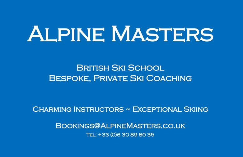 Alpine Masters Ski School