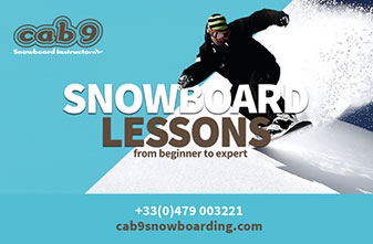 Meribel Snowboard Schools - Cab 9