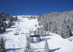 Chair-Lift-From-Meribel-Chaudanne-to-Tougnete-Mid-Station