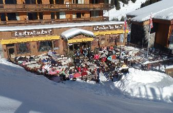 Mottaret Mountain Restaurants - Le Grain De Sel Restaurant