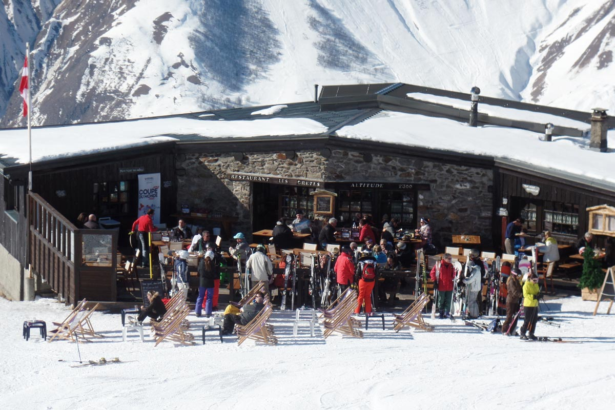 Les Cretes Restaurant Meribel Tougnete