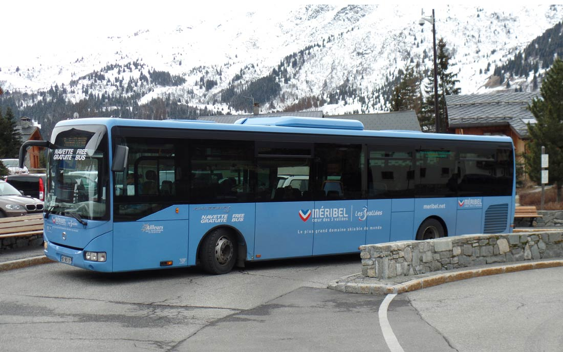 Meribel Bus service - Bus