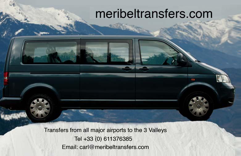 Meribel Transfers Logo