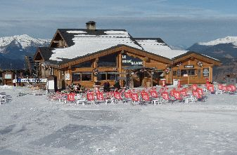la Tania Mountain restaurants - Bouc Blanc