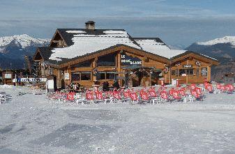 la Tania Mountain restaurants - Bouc Blanc