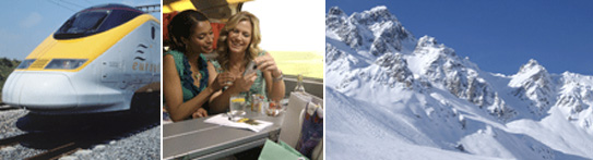 Rail Travel Meribel - Eurostar