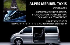 alps meribel taxis
