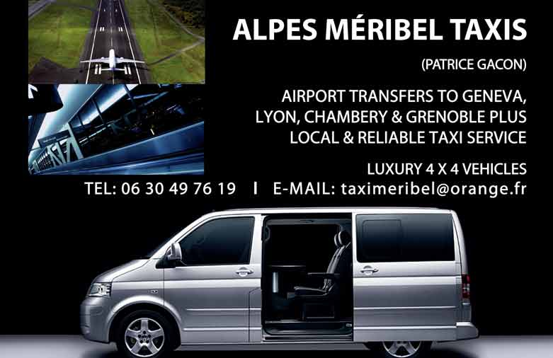 alps meribel taxis