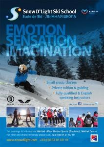 Snow DLight Ski Snowboard