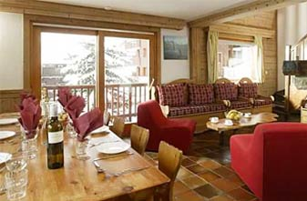 Mottaret catered chalets - Chalet Andre Lounge