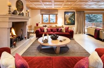 Meribel Chalets - 4 bedrooms Chalet Dou Des Branches Lounge