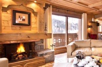Meribel Chalets - 3 bedrooms Chalet Brioche Lounge