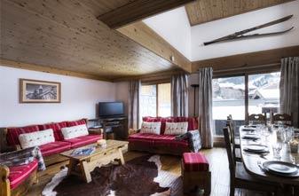 Meribel Chalets - 5 bedrooms Chalet Epena Lounge