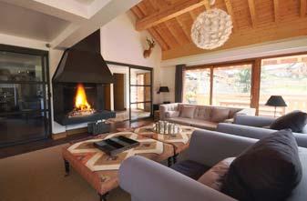 Meribel Chalets - 7 bedrooms Impala lounge