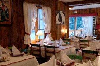 Meribel Mountain restaurants - Croix jean Claude