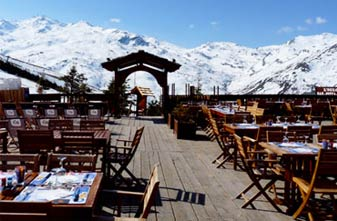 Les Menuires Mountain restaurants - Le Ferme
