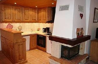 Meribel apartments - 2 bedrooms cristal Kitchen