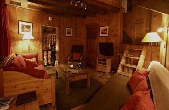 Meribel catered chalets 3 bedrooms - Grand Sorbieres lounge