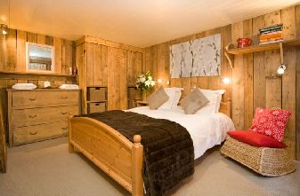 Chalet Bartavelle bedroom