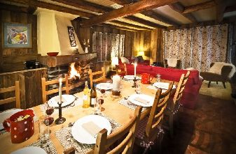 Chalet Bartavelle Dining