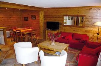 Meribel Apartments - Cristal 3 bedroom apartment Lounge