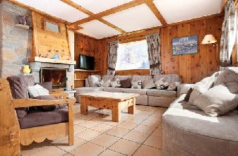 Meribel catered chalets 7 bedrooms - Chalet Michel Lounge
