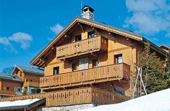 Meribel chalets 8 bedrooms - exterior chalet Matterhorn
