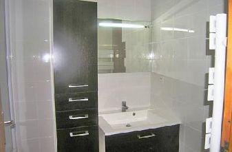 Meribel apartments - 3 bedroom apartment bathroom