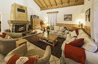 Meribel Raffort Catered Chalets - Chalet Lagopede Lounge