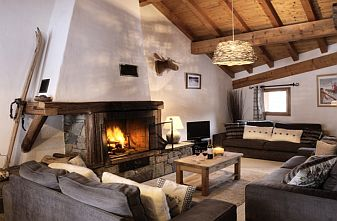 Meribel La Gittaz Catered Chalets - Chalet Cret De La Neige Lounge