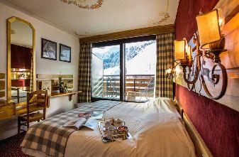 Meribel Mottaret Hotels - Hotel Ruitor Bedroom