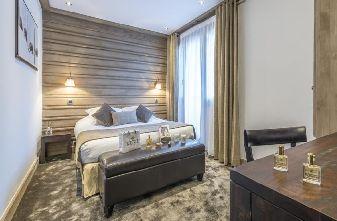 Meribel Hotels - Hotel Chaudanne Bedroom
