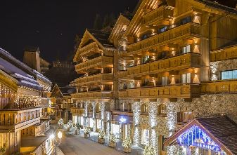 Meribel Hotels - Hotel Kaila Outside