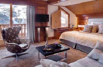 Meribel Hotels - Hotel Allodis Bedroom