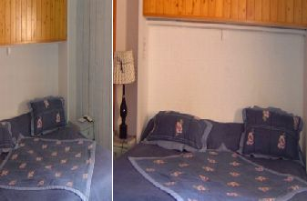 Meribel Hotels Les Allues - Croix Jean Claude bedroom