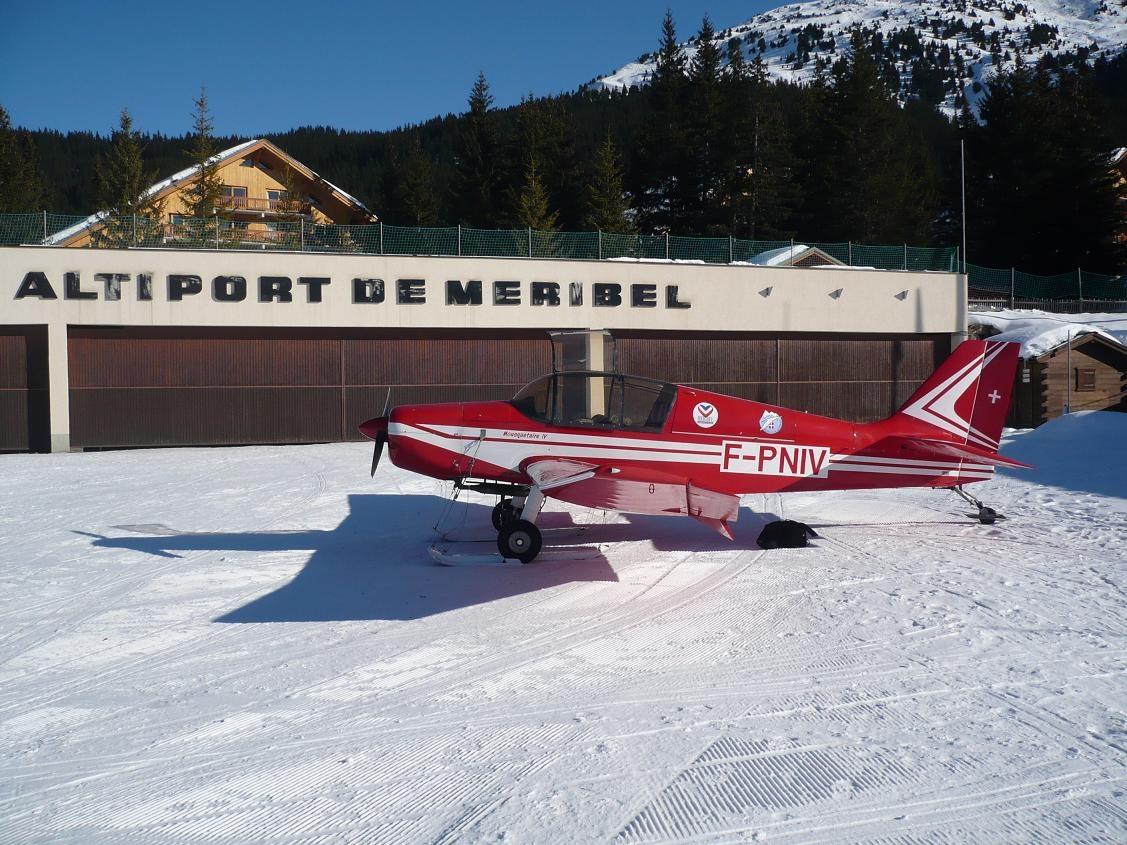 Meribel Airport2