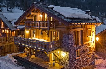 Self catered chalets Meribel Raffort - Chalet lounge