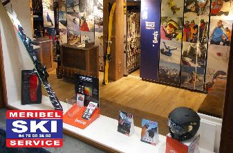 - Meribel ski service