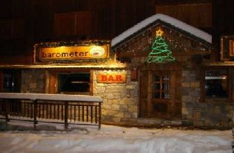 Meribel Bars Pubs Nightclubs - Barometer Bar Outside