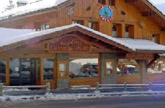 Chamois Sports snowboard hire .outside view