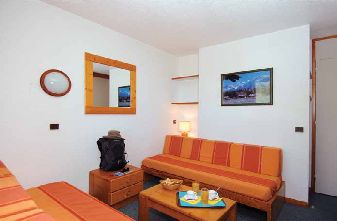 Mottaret Apartments - Le Hameau lounge