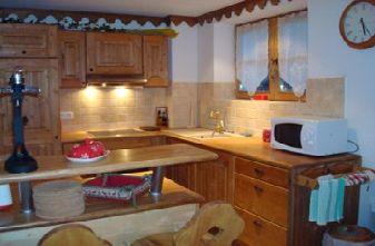 Champetre apartment kitchen