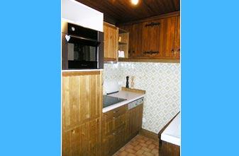 les Moulinets apartment kitchen