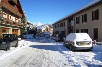 Meribel Les Allues Village.January 2016.