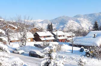 Meribel Les Allues Mountains.January 2016.