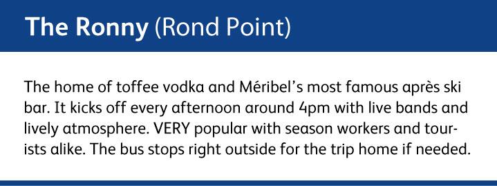 The Ronny Bar